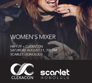 ClexaCon Women's MIxer at 2018 Honolulu Rainbow Film Festival